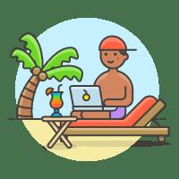 meilleur job nomade illustration