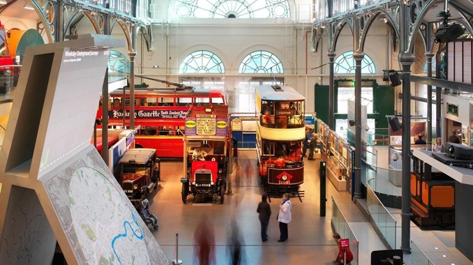 transport Musée londres