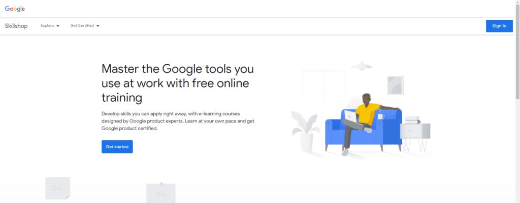 Formation Google Adwords Skillshop